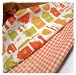 MARCH58Pack29 : ผ้าจัดเซตผ้าอเมริกา 1 ชิ้น+ผ้าลายตารางผ้าในตลาดไทย คอตตอน 2 ชิ้น ขนาดผ้าแต่ละชิ้น 25-27 X 45-50cm