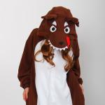 ชุดนอนมาสคอต หมาป่า ผ้า Fleece *พร้อมส่ง*