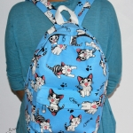 กระเป๋าเป้จี้สัฟ้า(14นิ้ว)