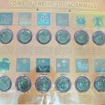แผงเหรียญ12ราศี หลังหลังยันต์8ทิศ หนุนดวง แก้ปีชง+คาถาบูชาขอลาภประจำวันเกิดทั้ง 7 วันค่ะ