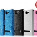เคสหนังฝาพับ HTC 8S ยี่ห้อ IMAK Flip Leather