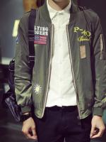 เสื้อแจ็คเก็ตแฟชั่นผู้ชาย
