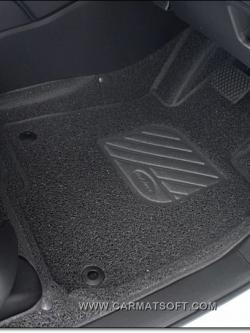 พรมดักฝุ่นไวนิลรีดขอบ NEW CR-V G5 2017 รุ่น VINYL MAT รีดขอบ +free แผ่นท้ายปิดเบาะหลัง เต็มคัน สวยงาม หนานุ่ม สบายเท้าที่สุด