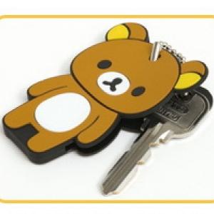 ที่เก็บกุญแจ ที่ครอบกุญแจ ริลัคคุมะ Rilakkuma