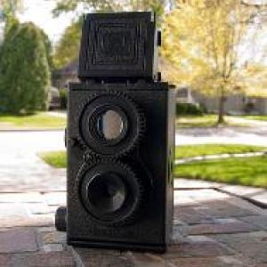 กล้องประกอบเอง Recesky Camera สีดำ