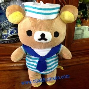 ตุ๊กตา หมี ริลัคคุมะ กะลาสี ขนาดสูง8.5นิ้ว
