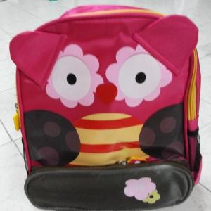 [ลายนกฮูก] กระเป๋าเป้เด็ก