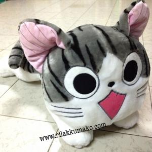 ตุ๊กตา แมวน้อย จี้จัง แมวจี้จัง ลืมตา Chi's sweet home ขนาดใหญ่ 22นิ้ว