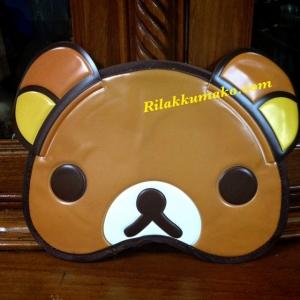 ผ้าปิดตา ลายหมี ริลัคคุมะ Rilakkuma (สั่งซื้อ3อัน เหลืออันละ 80บาท)