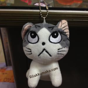 พวงกุญแจ แมวน้อย จี้จัง แมวจี้จัง หน้าบึ้ง Chi's Sweet Home
