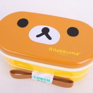 กล่องข้าว ลาย Rilakkuma ริลัคคุมะ หมีขี้เกียจ