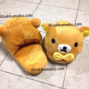 รองเท้าใส่เดินในบ้าน ลาย หมี Rilakkuma ริลัคคุมะ ขนาด Free Size