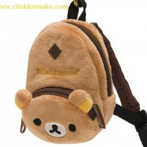 กระเป๋าใส่ของขนาดพกพา ทรงเป้ ลายหมีริลัคคุมะ Rilakkuma สำหรับใส่มือถือหรือเศษเหรียญ