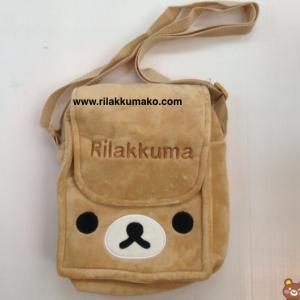 กระเป๋าสะพายข้าง ลายหมี ริลัคคุมะ Rilakkuma ขนาด 9x7x3นิ้ว