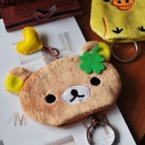 ที่เก็บกุญแจ ดึง เข้า-ออกได้ ลาย หมี ริลัคคุมะ Rilakkuma (ราคาส่ง 3ชิ้น เหลือชิ้นละ 120บาท)