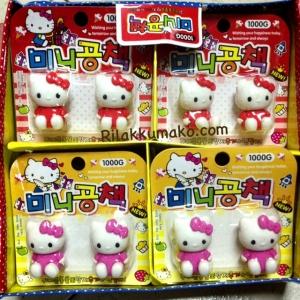 ยางลบ ลาย Hello Kitty คิตตี้ 1แพ็ค มี2ชิ้น สูง1.5นิ้ว น่ารักมากๆค่ะ (ราคาแพ็คละ35บาท ได้2ชิ้น)