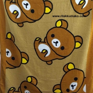 ผ้าขนหนู ผืนใหญ่ ลาย ริลัคคุมะ Rilakkuma Towel 100x150cm