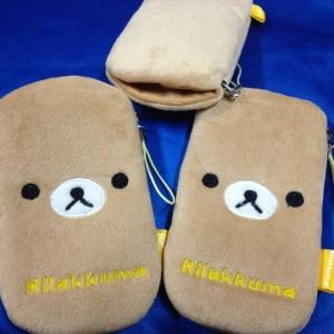 ซองใส่ iPhone ลาย Rilakkuma ริลัคคุมะ หมีน้ำตาล (iPhone5 ใส่ได้)