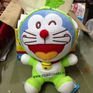 ตุ๊กตา โดเรมอน Doraemon ขนาดสูง8นิ้ว ชุดเขียว