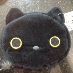 กระเป๋าใส่กุญแจ ลายแมวดำ Kutsushita