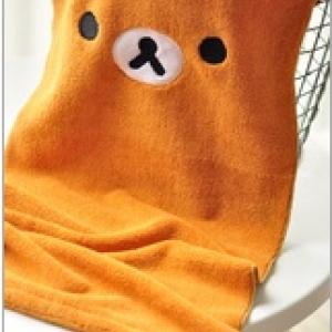ผ้าขนหนู ลาย Rilakkuma ริลัคคุมะ ขนาด 11x22นิ้ว