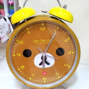 นาฬิกา ริลัคคุมะ ขนาดเส้นผ่าศูนย์กลาง 8.5นิ้ว ใหญ่มากๆ ดังสะเทือน