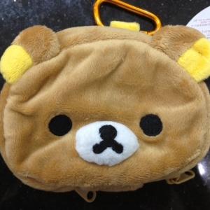 กระเป๋าใส่กุญแจ ลายRilakkuma หมีน้ำตาล