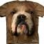 The Mountain Big Face Bulldog T-Shirts thumbnail 1