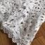 Dress เชิ้ตเดรสผ้าลูกไม้สีขาว thumbnail 6