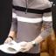 เสื้อแขนยาวคอโปโลแฟชั่นเกาหลีเท่ห์ๆ thumbnail 2