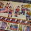 Yankee Doodle Bear Stars & Stripes Border Cream thumbnail 2