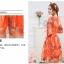 เดรสแฟชั่นเกาหลี สีแซ่บๆ โทนส้ม สวยสดใส สำหรับใคร ชอบสีแจ่มๆ จัดเลยค่ะ thumbnail 5