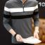 เสื้อแขนยาวคอโปโลแฟชั่นเกาหลีเท่ห์ๆ thumbnail 1