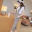 **หมดคะ**Korea ชุดเอี๊ยมกางเกงแฟชั่น+เสื้อสีขาว น่ารักนะค่ะชุดนี้ มี3สีนะค่ะ thumbnail 4