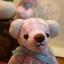 ตุ๊กตาหมีผ้าฝ้ายสีชมพู ขนาด 12 cm. - Bess thumbnail 1