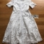 Dress เชิ้ตเดรสผ้าลูกไม้สีขาว thumbnail 4