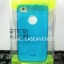 LZ เคสแข็งแบบเห็นตัวเครื่อง iphone4/4s สีน้ำเงิน ขอบด้านหน้าเป็นอะลูมิเนียม thumbnail 1