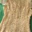 (Yellow)ชุดเดรสผ้าลูกไม้ถักทอทั้งชุด สีเหลืองสดใส แต่งมุขด้านหน้าสลับเพชรเล็ก วิ๊งวิ๊ง ฟรุ้งฟริ้ง สวยหรูมากค่ะ thumbnail 3