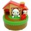 แมวจับหนู Sutakora Cat and Mouse Coin Bank Cat and Mouse Moving Money Box Piggy Bank ของเล่นส่งเสริมนิสัยการออม ขนาดสินค้า 13.9 x 12.4 x 13.9 cm. กระปุกออมสินแมวหนู thumbnail 1