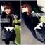 กระเป๋าแฟชั่นทรงเสื้อสูทสีดำออกแบบเก๋..ม๊ากมากค่ะ thumbnail 2