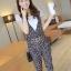 **หมดคะ**Korea ชุดเอี๊ยมกางเกงแฟชั่น+เสื้อสีขาว น่ารักนะค่ะชุดนี้ มี3สีนะค่ะ thumbnail 17