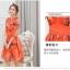 เดรสแฟชั่นเกาหลี สีแซ่บๆ โทนส้ม สวยสดใส สำหรับใคร ชอบสีแจ่มๆ จัดเลยค่ะ thumbnail 4