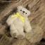ตุ๊กตาหมีผ้าขนสีครีมขนาด 10 cm. - Muffin thumbnail 1