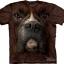 The Mountain Big Face Boxer Dog T-shirts thumbnail 1