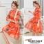 เดรสแฟชั่นเกาหลี สีแซ่บๆ โทนส้ม สวยสดใส สำหรับใคร ชอบสีแจ่มๆ จัดเลยค่ะ thumbnail 10