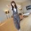 **หมดคะ**Korea ชุดเอี๊ยมกางเกงแฟชั่น+เสื้อสีขาว น่ารักนะค่ะชุดนี้ มี3สีนะค่ะ thumbnail 21