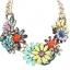 พร้อมส่งจ้า ZARA flower statement necklace thumbnail 2