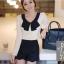 God is girl เสื้อผ้าแฟชั่นเกาหลี แขนยาวผ้ายืดเนื้อดีสีขาว thumbnail 1