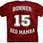 เสื้อยืด3Dสุดแนว(RED MAMBA: BONNER EDITION T-SHIRT) thumbnail 2
