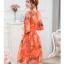 เดรสแฟชั่นเกาหลี สีแซ่บๆ โทนส้ม สวยสดใส สำหรับใคร ชอบสีแจ่มๆ จัดเลยค่ะ thumbnail 11